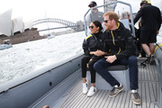 Meghan Markle stayed casual and comfy in white Veja sneakers for the Invictus Games Sydney 2018.