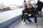 Meghan Markle Leather Sneakers
