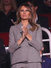 Melania Trump sported classic French mani while attending the 2017 Invictus Games opening ceremony.