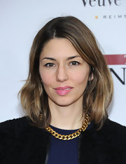 Sofia Coppola attended the NYC premiere of 'The Iron Lady' wearing her hair in a casually tousled bob.