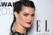 Isabeli Fontana Long Braided Hairstyle