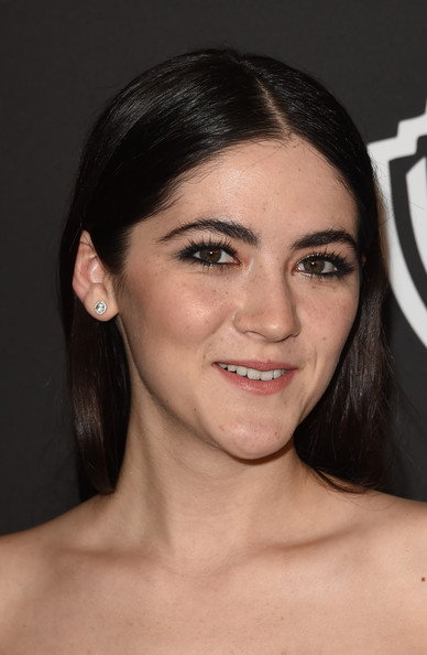 Isabelle Fuhrman Long Center Part [hair,face,eyebrow,hairstyle,chin,lip,cheek,forehead,skin,beauty,post-party - arrivals,isabelle fuhrman,beverly hills,california,the beverly hilton hotel,instyle,warner bros. 72nd annual golden globe awards,warner bros. 72nd annual golden globe awards post-party]