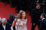 Isabelle Huppert Beaded Dress