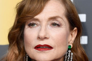 Isabelle Huppert Gemstone Chandelier Earrings