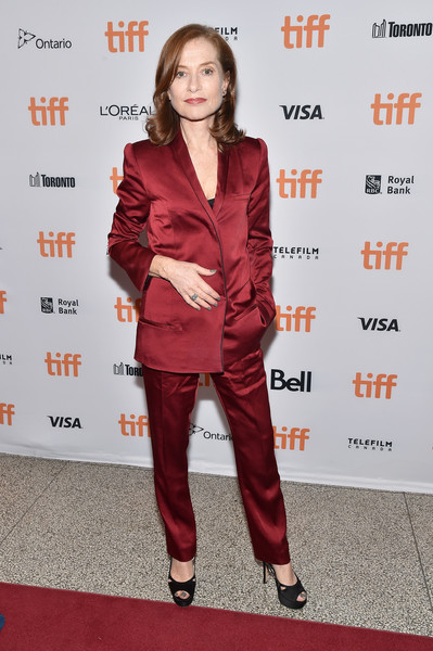 Isabelle Huppert Peep Toe Pumps