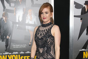 Isla Fisher Beaded Dress