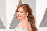 Isla Fisher Satin Clutch