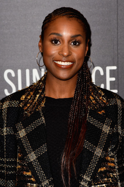 Issa Rae Long Cornrows