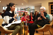 J.Crew Hosts a Q&A with Iris Apfel, Moderated by Caroline Issa