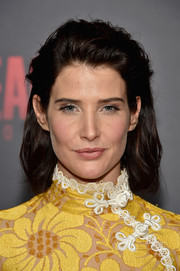 Cobie Smulders went for a rocker edge with this teased 'do at the 'Jack Reacher: Never Go Back' fan screening.