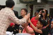 Jaden Smith and Jackie Chan Photo