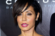 Jada Pinkett Smith Side Parted Straight Cut