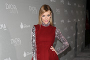 Jaime King Mini Dress