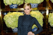 Jaime King Print Blouse