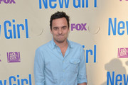 Jake Johnson Button Down Shirt