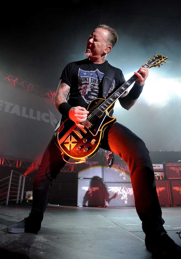 James Hetfield T Shirt James Hetfield Looks Stylebistro