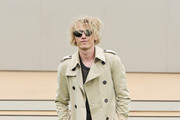Jamie Campbell Bower Trenchcoat
