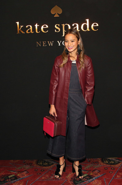 Jamie Chung Leather Coat