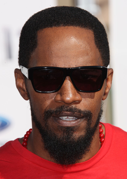 Jamie Foxx Rectangular Sunglasses