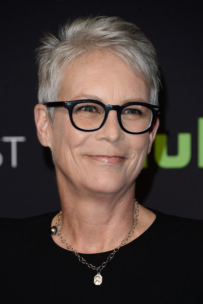 Jamie Lee Curtis Pixie [scream queens,eyewear,hair,face,glasses,hairstyle,eyebrow,chin,forehead,blond,vision care,jamie lee curtis,los angeles,dolby theatre,california,hollywood,paley center for media,paleyfest]