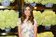 Jamie-Lynn Sigler Print Dress