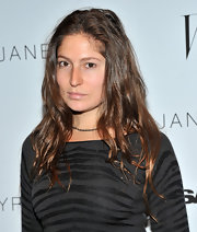 Stella Schnabel wore her waves down at the 'Jane Eyre' NYC.