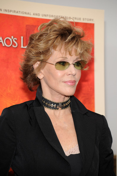 Jane Fonda Beaded Choker Necklace