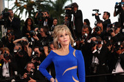 Jane Fonda Cutout Dress