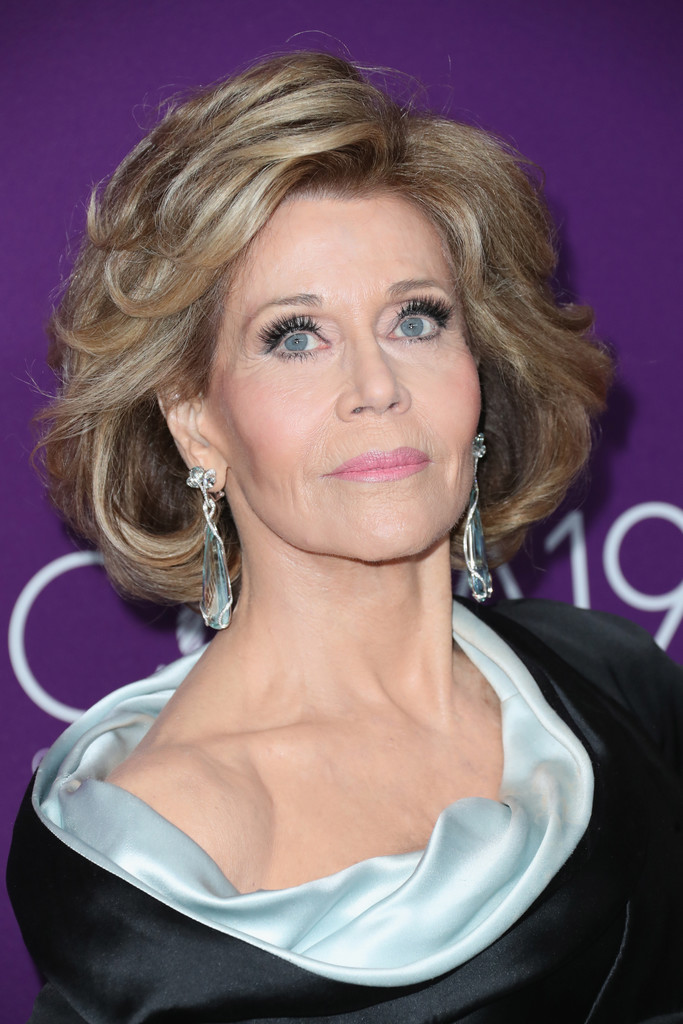 Jane Fonda Short Hairstyles Lookbook
