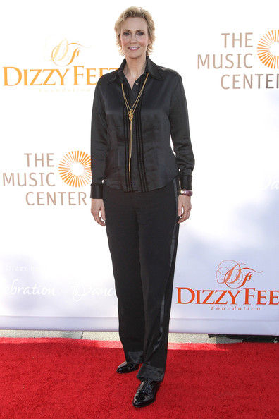 Jane Lynch Silk Pants