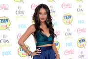 Janel Parrish Long Skirt