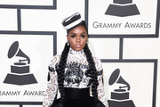 Janelle Monae Fitted Blouse