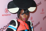 Janelle Monae Headdress