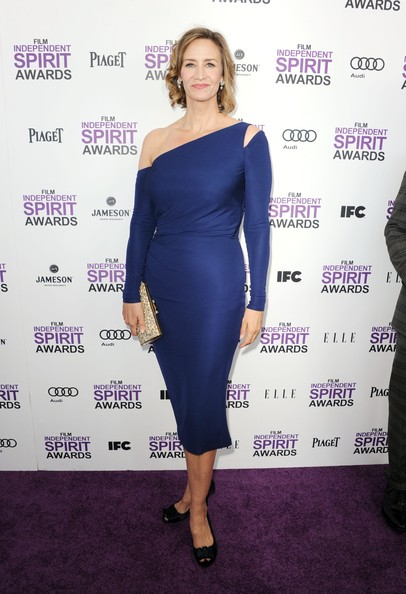 Janet McTeer Cutout Dress