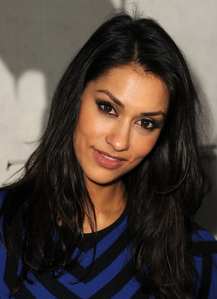 Janina Gavankar Layered Cut