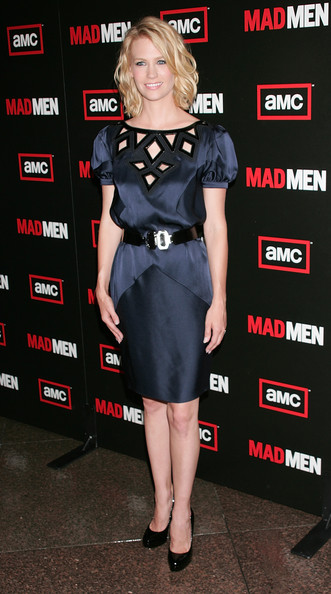 January Jones Leather Belt
