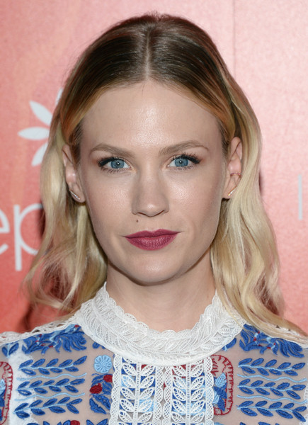 January Jones Retro Hairstyle