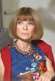 Anna Wintour attended the Jason Wu fashion show sporting her unchanging bob.