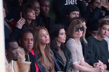 Jay-Z Beyonce Knowles adidas Originals x Kanye West YEEZY SEASON 1 - Front Row & Backstage
