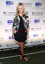 Brooklyn Decker wore a black shift dress for the Shawn Carter Foundation benefit.