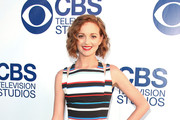 Jayma Mays Metallic Clutch