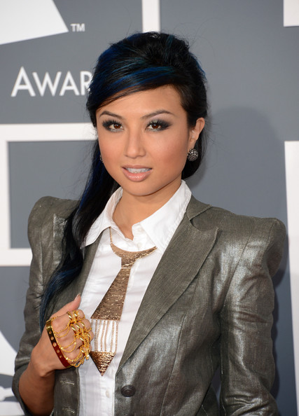 Jeannie Mai Gold Statement Necklace