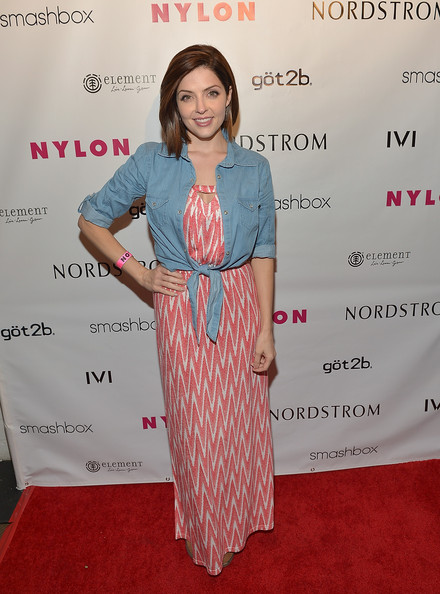 Jen Lilley Denim Shirt