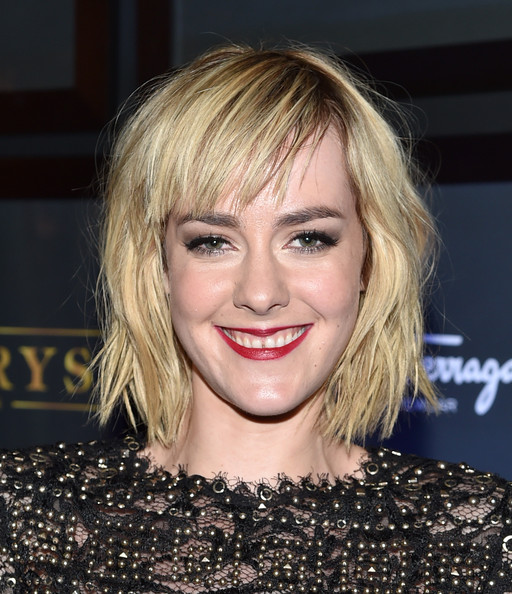 Jena Malone Red Lipstick [time out of mind,hair,face,hairstyle,blond,eyebrow,chin,bangs,lip,layered hair,smile,jena malone,byblos,toronto,canada,toronto international film festival,party,premiere,party]