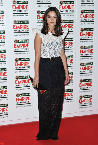 Jenna-Louise Coleman Evening Dress