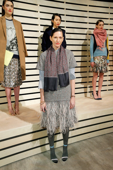 Jenna Lyons Patterned Scarf