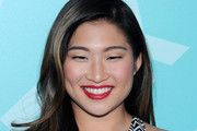 Jenna Ushkowitz Long Wavy Cut
