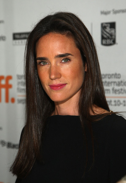 Jennifer Connelly Long Straight Cut [hair,face,eyebrow,lip,hairstyle,beauty,long hair,chin,black hair,brown hair,jennifer connelly,creation,toronto,canada,sutton place hotel,creation press conference,press conference]