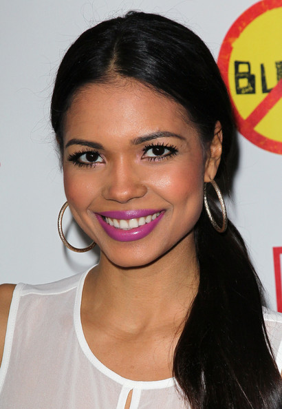 Jennifer Freeman Bright Lipstick