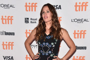 Jennifer Garner Embroidered Dress